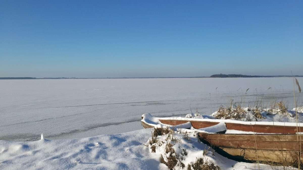 Снасти для зимней рыбалки с берега и с лодки